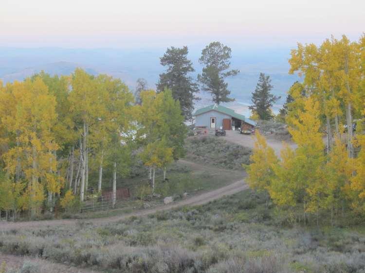 Soap Mesa Cabin View