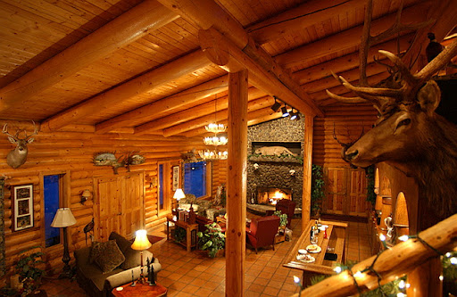Flying B Inside Lodge